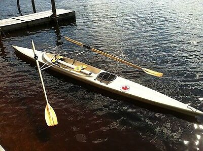 Rowing Scull Boat complete with Oars