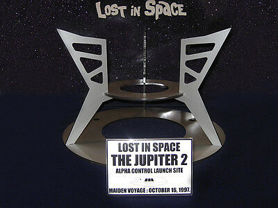 LOST IN SPACE - THE JUPITER 2 - CUSTOM DESIGNED ACRYLIC DISPLAY STAND 1/35scale
