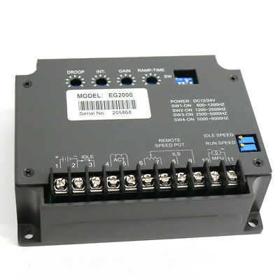 New EG2000 Universal Electronic Engine Speed Governor Controller