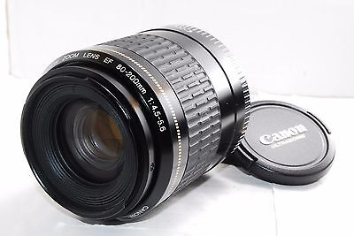 Canon EF 80-200mm F/4-5.6 USM Ultrasonic Zoom Lens from Japan Excellent!