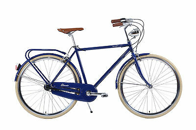NIXEYCLES - Classic Mens Gents Vintage Retro Bicycle - With Pump/Lock and BASKET