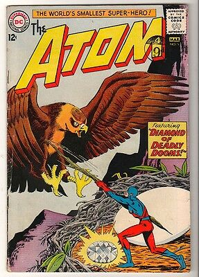 DC Comics Silver age #5  1962  FN ATOM 5.0  DEADLY DOOMS