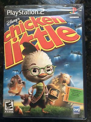 Disney's CHICKEN LITTLE - Sony PS2 Game! Playstation 2 Complete