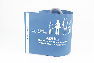 10pieces reusable NIBP cuff, adult, single tube with bladder, 25-35cm, C6711