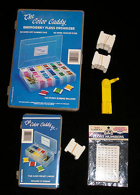 Embroidery Floss Organizer Set with Bobbins Winder & Floss Numbers