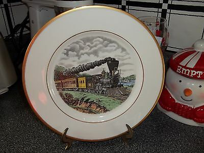 AMERICAN EXPRESS TRAIN PLATE 1ST FIRST EDITION N. CURRIER ATLAS CHINA COMPANY