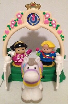 Fisher Price Little People Lot of 4 Pcs - Prince & Princess Set