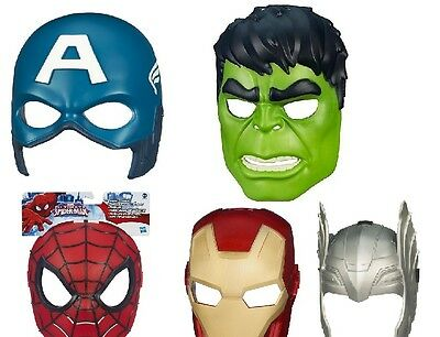 Marvel Avengers Civil War Masks from Hasbro NEW with tags choose from menu