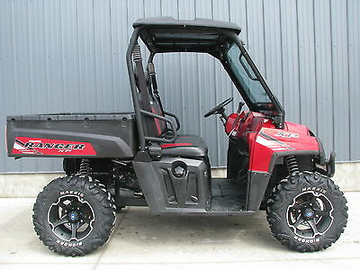 2012 POLARIS RANGER 800 XP EFI EPS SUNSET RED SUPER CLEAN! LOCATED BREESE IL NR