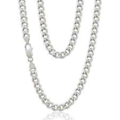 Sterling Silver 925 Curb Chain 16-30Inch-Solid Hallmarked 4mm Width 1242