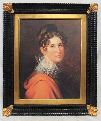 Modern Oil on Canvas painting of a lady bust (7218)