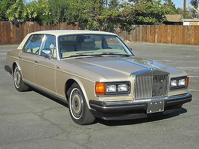 Rolls-Royce : Silver Spirit/Spur/Dawn Silver Spur 1989 rolls royce silver spur 56 k miles nice car ready to be driven and enjoyed