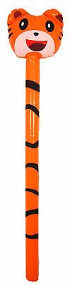 Inflatable Tiger Stick - 118cm - Blow Up Toy Loot/Party Bag Gift