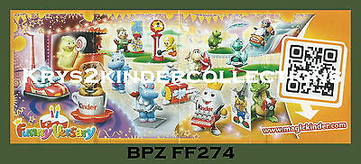 BPZ kinder Funny Versary 40 ans FF274 tortue France 2014