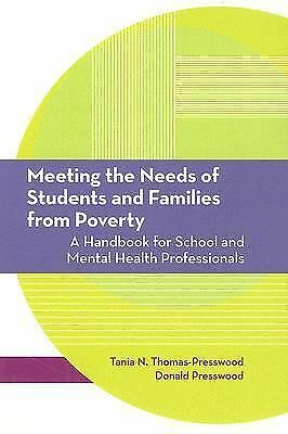 Meeting the Needs of Students and Families from Poverty: A Handbook for School a