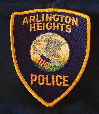 Arlington Heights, Illinois Police Shoulder Patch (invp1589)