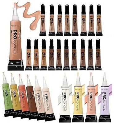 L.A. LA Girl Pro Conceal HD. High Definition Concealer & Corrector - Pick Color