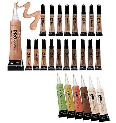 24 L.A. LA Girl Pro Conceal HD. High Definition Concealer & Corrector - Pick Any