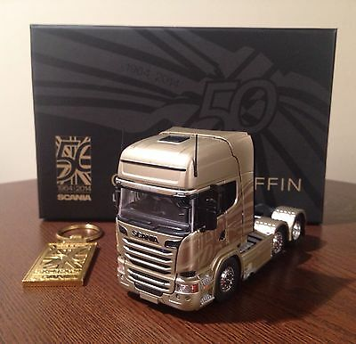 Scania Golden Griffin Model Truck Tekno Limited Edition & Key Ring