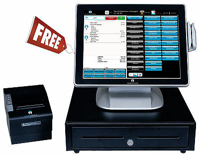 FREE POS System Nightclub Restaurant Bar Deli Diner Cafe Pizza Pizzeria 4rdfs