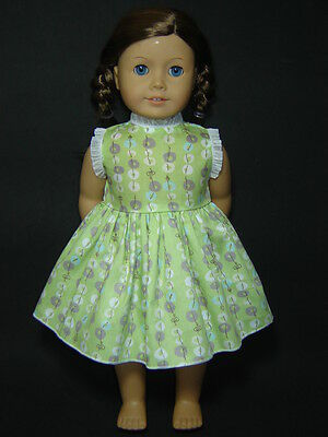 Beautiful Green Dress fits 18'' American Girl Dolls Clothes AG350