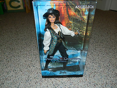 Angelica Barbie PINK LABEL 2010 Pirates Of The Caribbean MIB SEALED!!!