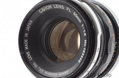CANON LENS FL 50mm f1.8 Lens Made in Japan * * * Excellent Condition * * *