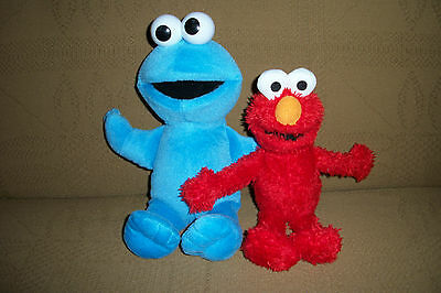 Fisher Price Cookie Monster and Elmo