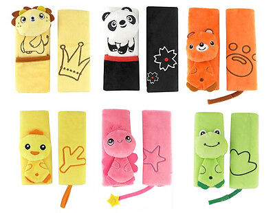 Baby Car Seat Belt Strap Covers Pad Cushion For Stroller Pushchair