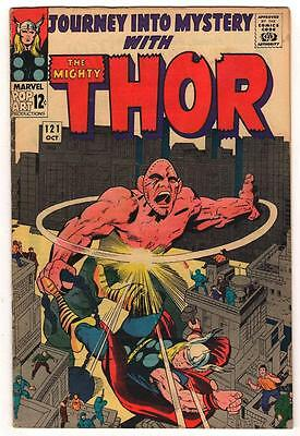 Marvel Comics THOR #121  FN 5.0  Journey into mystery