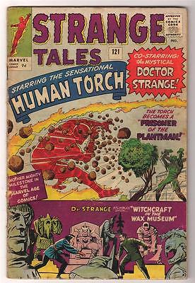 MARVEL STRANGE TALES 121  KIRBY DITKO PLANTMAN VG-  Human torch FF4