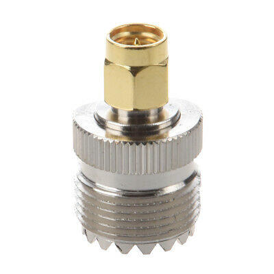 Hot Sale UHF SO-239 SO239 Female to SMA Male Plug Connector Coaxial Adapter WS