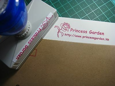 CUSTOMIZED PRE-INK SELF-INKING RUBBER STAMP ( LARGE)