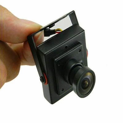 HD 700TVL Sony CCD PCB Board Camera 3.6mm Wide Angle Lens Mini FPV Security Cam