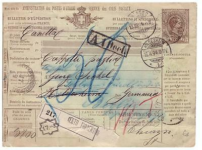 shop1371 Italy special delivery card