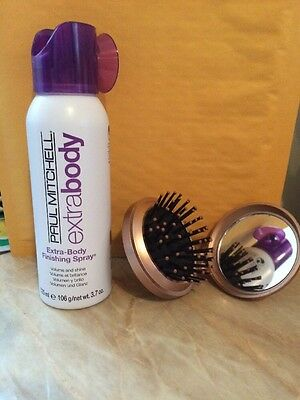 Paul Mitchell Extra Body Finishing Spray 3.7 oz Comes Whit  Free Small Brush