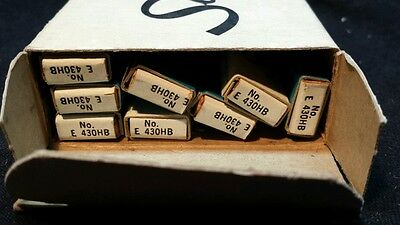 VINTAGE 8 BOXES OF SCRIPTO LONG LEADS #E430 BLACK HB 'NOS' 29 cents