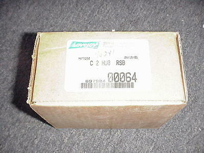 """Lovejoy C2 X 1-9/16"""" Bore 3/8""""kw And Set Screw Gear Coupling Hub  New In Box"""