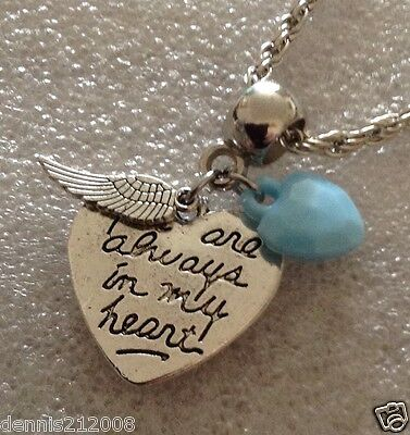 Charm pendant keyring necklace European Clipon baby loss miscarriage angel CN111