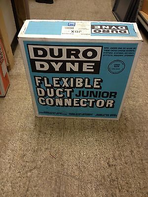 Duro Dyne Flexible Duct Junior Connector 100' Roll Metal Fab MBX 10169 Excelon