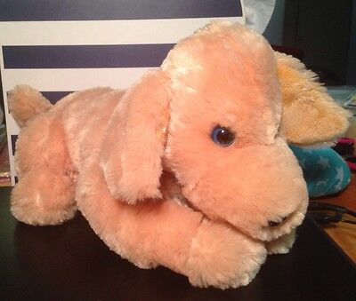 Puppy Dog Battery Operated Stuffed Animal Child Gift Barks Whines Moves