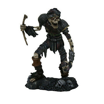 """Zombie General in Suit of Armor Statue Horror Decoration Figurine 8""""H Decoration"""