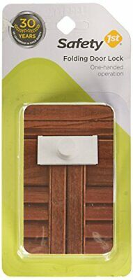 Safety 1st 2 Pack Bi-Fold, Closet & Folding Door Baby Child Proof Lock - 72354-2