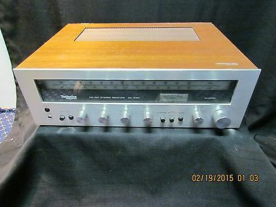 Technics by Panasonic SA-5150 FM/AM Stereo Receiver  parts has a broken channel