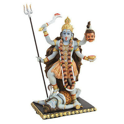 Hindhuism Figurine Statuary Goddess Kali Consort of Shiva Death and Time Eternal