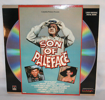 Laserdisc (6)  * Son of Paleface * Bob Hope Jane Russell Roy Rogers Extended