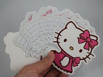 Cute Beautiful Hello Kitty Cartoon Mini Folding Note Pads Notebook Memo 50 Pages