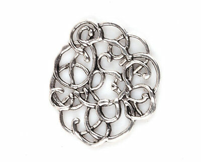 Free Shipping 10 Pcs Tibetan Silver Jewelry flowers Findings Connectors TA568