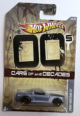Ford Mustang GT Grey OH5SP The '00s 2011 Cars of the Decades Hot Wheels 4986