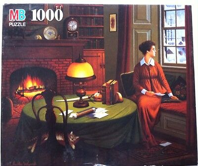 "NEW~Charles Wysocki~HER CAPTAINS WISTFUL LETTER"" Puzzle 1000 PC~22""X26""~FREE S&H"